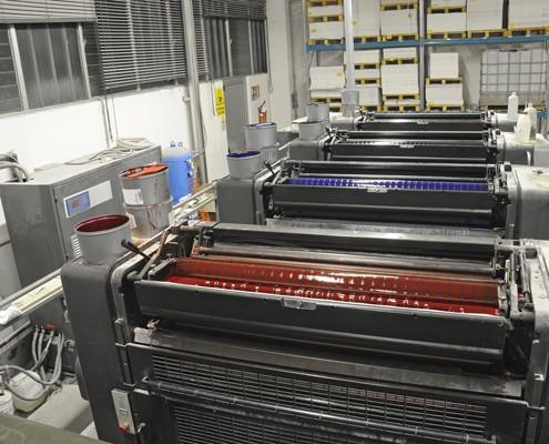 presse offset quadri
